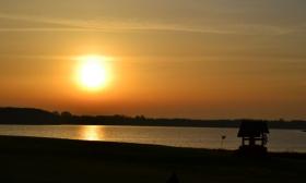 Stovyklavietė prie ežero